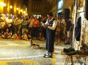 Actuación en el Veregra Street Festival. Montegranaro 2012