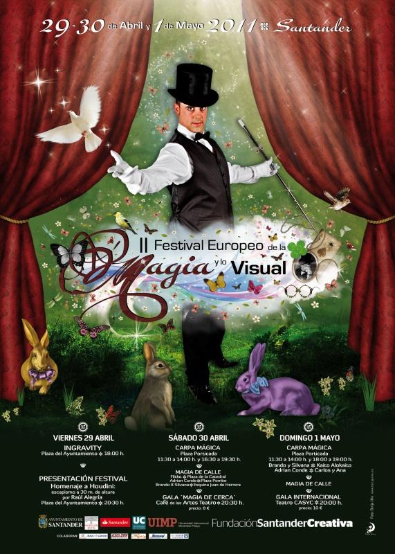 II FESTIVAL EUROPEO DE LA MAGIA Y LO VISUAL
