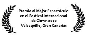 Premio Mejor Espetáculo