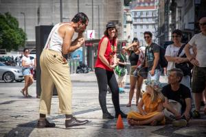 Magia en la calle - Lisboa 2018