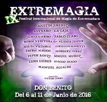Magia para niños y magia en la calle en Extremagia