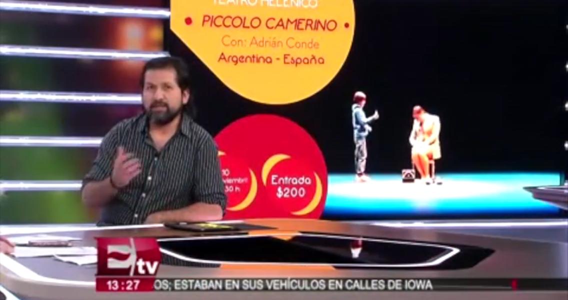 4 encuentro internacional de clown de mexico tv