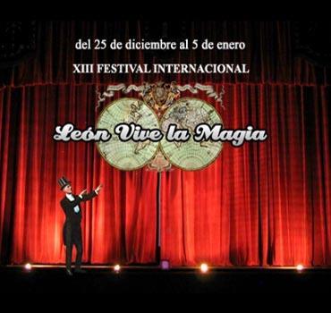 espectáculos de magia en las calles y teatros de León