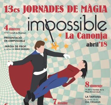 la canonja 2018- festival de magia en Trragona 2