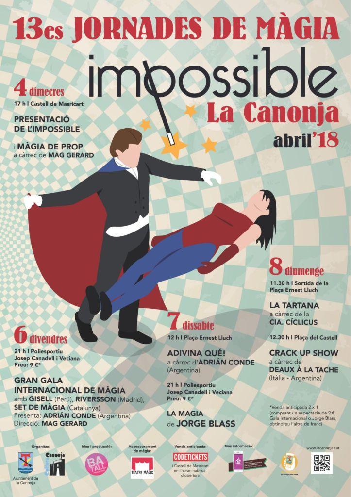 la canonja 2018- festival de magia en Trragona
