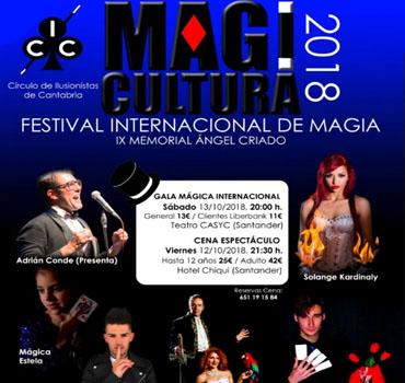 Adriçan Conde presenta como mago para fiestas magicultura 2018