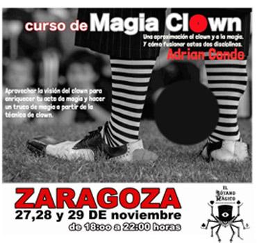 mago para fiestas y magia clown. Un curso de Adrián Conde