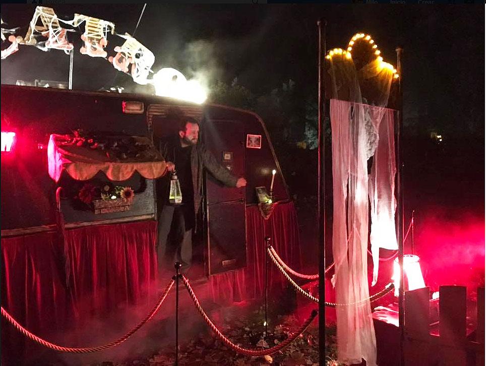 Adrián Conde. Un mago para fiestas terroríficas y fiestas de halloween.