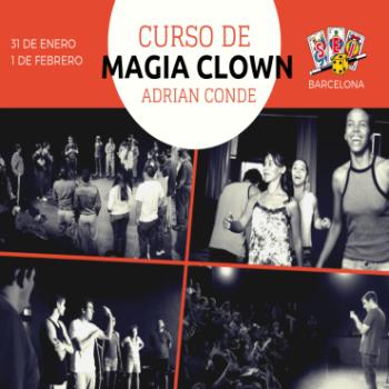 curso de magia clown BARCELONA idestadad