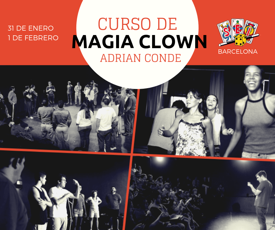 curso de magia y clown