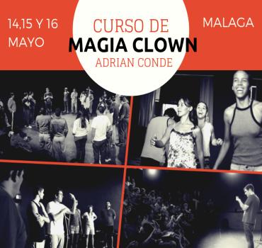 curso de magia clown Malaga-DESTACADA