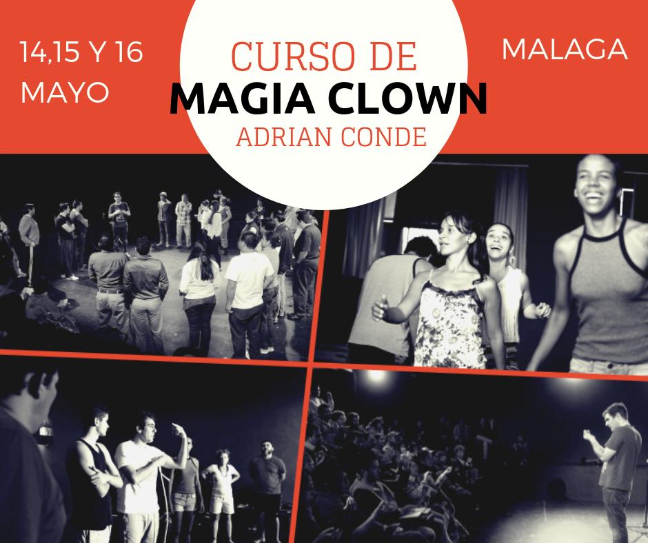 curso de magia clown Malaga